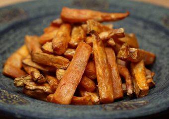 Vetvrije krokante frietjes met de airfryer